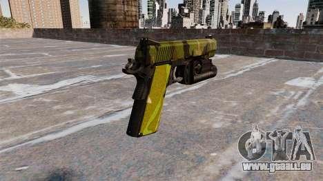 Pistolet Semi-automatique Kimber pour GTA 4 secondes d'écran