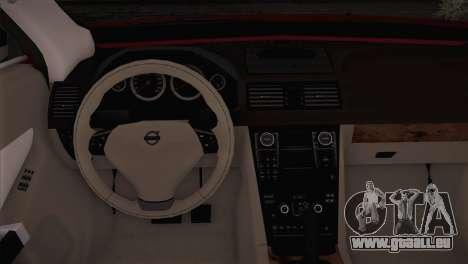 Volvo XC60 2009 für GTA San Andreas Rückansicht