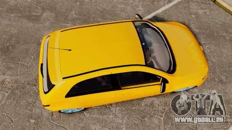 Volkswagen Gol G5 3 Puertas pour GTA 4 est un droit