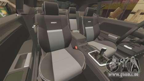 Dodge Challenger SRT8 2009 [EPM] APB Reloaded pour GTA 4 vue de dessus