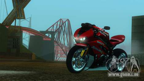 Kawasaki Ninja ZX-6R pour GTA San Andreas