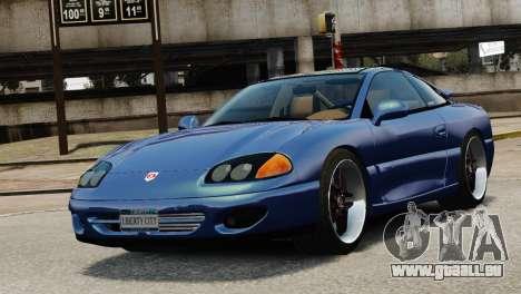 Dodge Stealth Turbo RT 1996 für GTA 4 Innenansicht