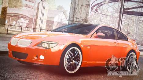 BMW M6 Hamann Widebody v2.0 pour GTA 4