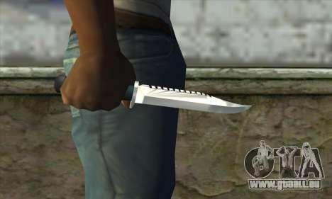 Messer für GTA San Andreas dritten Screenshot