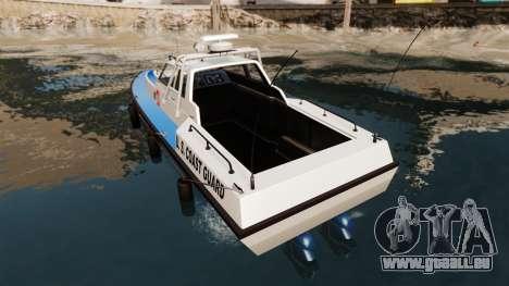Predator U.S. Coast Guard für GTA 4 hinten links Ansicht