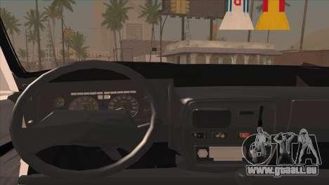 Peykan 48 Blackroof pour GTA San Andreas vue arrière
