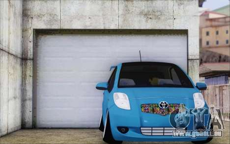 Toyota Yaris Hellaflush Young Child pour GTA San Andreas