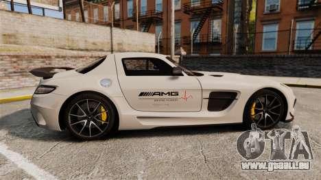 Mercedes-Benz SLS 2014 AMG Driving Academy v1.0 für GTA 4 linke Ansicht