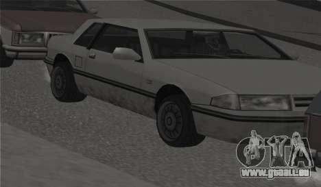 Toutes les roues sur toutes les machines pour GTA San Andreas cinquième écran