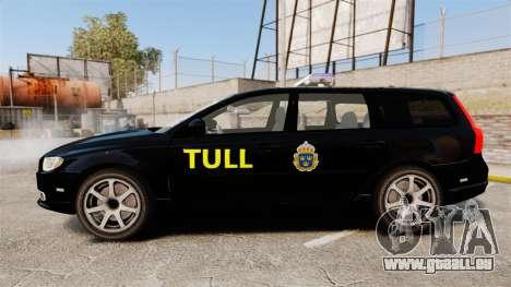 Volvo V70 Swedish TULL [ELS] für GTA 4 linke Ansicht