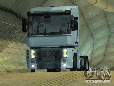 Renault Magnum für GTA San Andreas zurück linke Ansicht