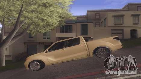 Mazda BT-50 Pro pour GTA San Andreas laissé vue