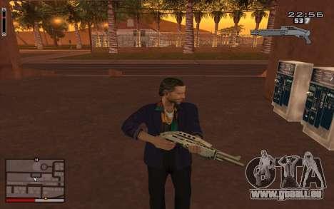 C-HUD GTA 5 für GTA San Andreas zweiten Screenshot