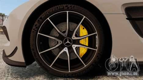Mercedes-Benz SLS 2014 AMG NFS Stripes für GTA 4 Rückansicht