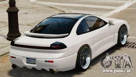 Dodge Stealth Turbo RT 1996 pour GTA 4 est un droit