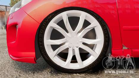 Peugeot 308 CC pour GTA 4 Vue arrière