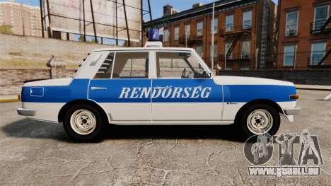 Wartburg 353w Deluxe Hungarian Police pour GTA 4 est une gauche