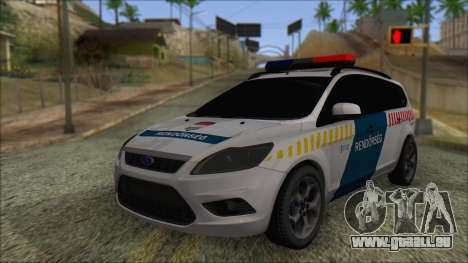 Ford Focus 2008 Station Wagon Hungary Police pour GTA San Andreas