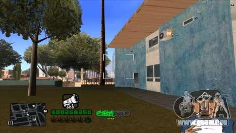 C-HUD By Markus pour GTA San Andreas quatrième écran