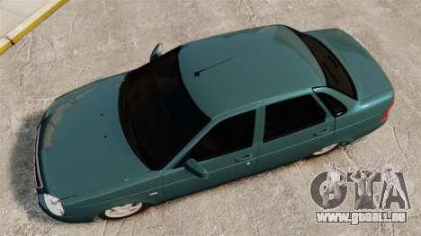 VAZ-2170 für GTA 4 rechte Ansicht