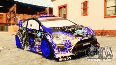 Ford Fiesta 2013 pour GTA 4 est une vue de dessous