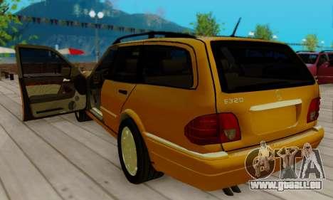 Mercedes-Benz E320 Wagon für GTA San Andreas rechten Ansicht
