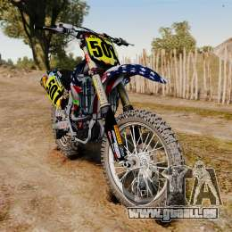 Kawasaki KX250F Monster KX USA für GTA 4