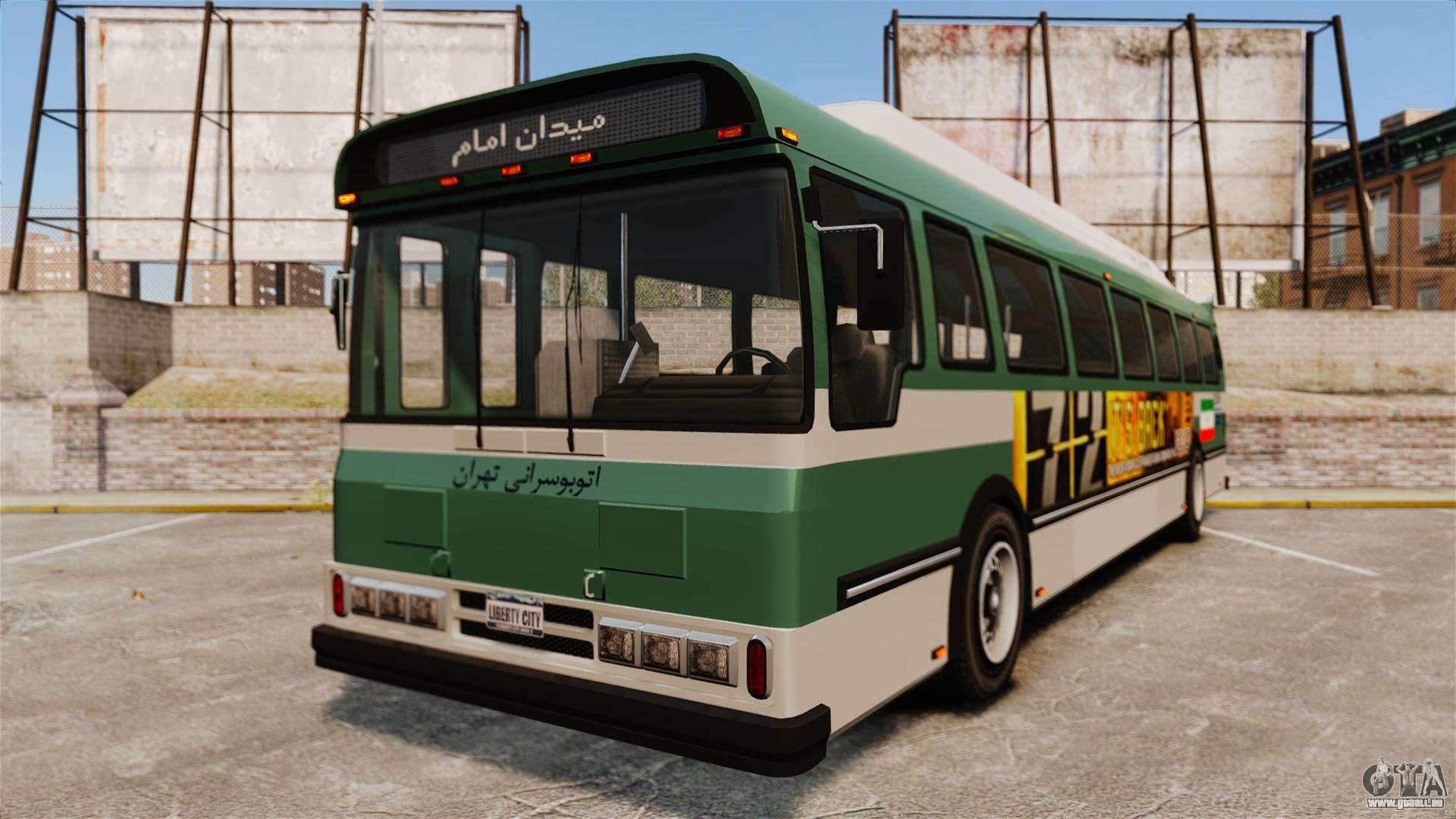 iranische farbe bus f r gta 4. Black Bedroom Furniture Sets. Home Design Ideas