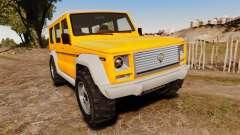 GTA V Benefactor Dubsta new wheels pour GTA 4