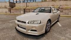 Nissan Skyline ER34 GT-R für GTA 4