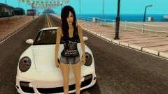 Jack Daniels Girl Skin pour GTA San Andreas