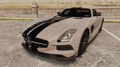 Mercedes-Benz SLS 2014 AMG NFS Stripes