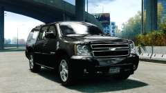 Chevrolet Suburban 2008 FBI [ELS] pour GTA 4