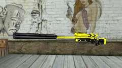 Yellow Sniper Rifle pour GTA San Andreas