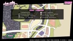 Les icônes de la carte de GTA V