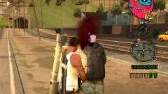 C-HUD Lion pour GTA San Andreas