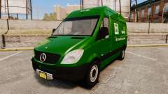 Mercedes-Benz Sprinter 2500 2011 Hungarian Post für GTA 4