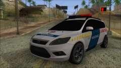 Ford Focus 2008 Station Wagon Hungary Police für GTA San Andreas