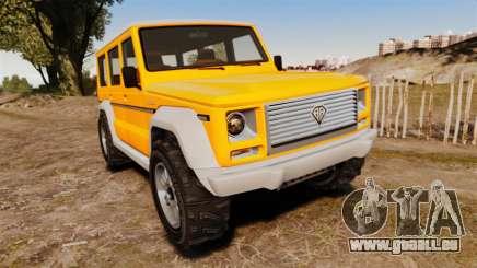 GTA V Benefactor Dubsta new wheels für GTA 4