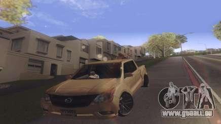 Mazda BT-50 Pro pour GTA San Andreas