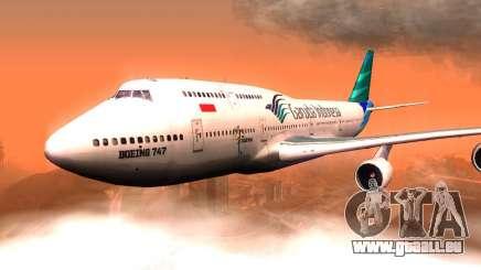 Boeing 747-400 Garuda Indonesia pour GTA San Andreas