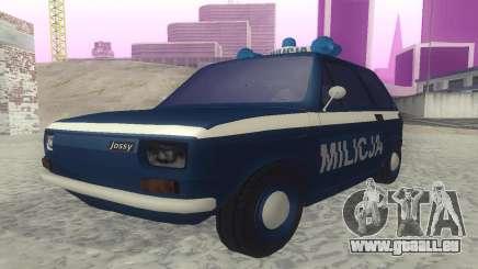 Fiat 126p milicja pour GTA San Andreas