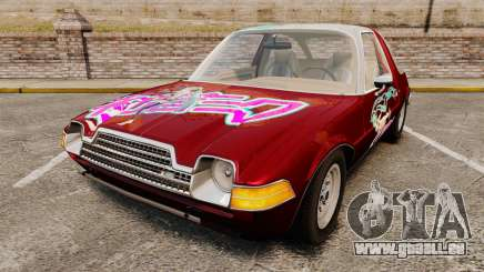 AMC Pacer 1977 v2.1 Miku für GTA 4