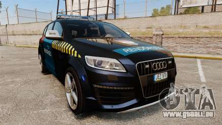 Audi Q7 Hungarian Police [ELS] pour GTA 4