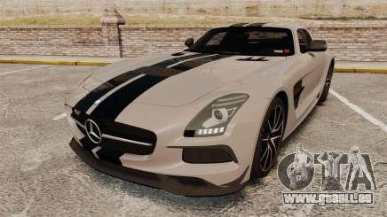 Mercedes-Benz SLS 2014 AMG NFS Stripes für GTA 4