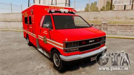 Brute LSFD Paramedic pour GTA 4