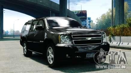 Chevrolet Suburban 2008 FBI [ELS] für GTA 4