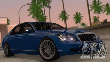 Maybach 57 TT Black Revel pour GTA San Andreas