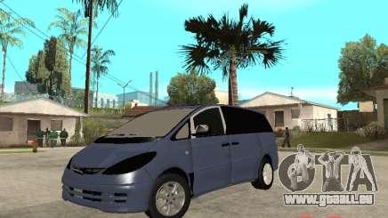 Toyota Estima KZ Edition 4wd pour GTA San Andreas
