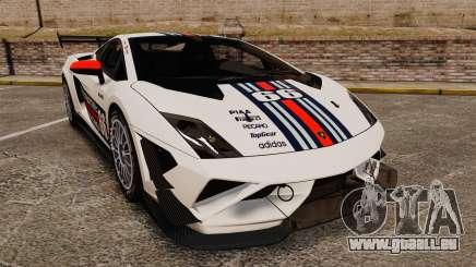 Lamborghini Gallardo LP570-4 Martini Raging pour GTA 4